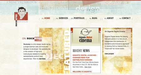 Beautiful and Creative Website Headers 06