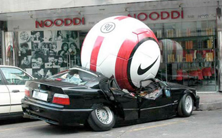 Nike Car Advertisement